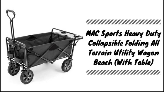 Heavy-Duty-Collapsible-Wagon-With-Table Heavy Duty Collapsible Wagon With Table
