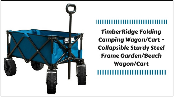 TimberRidge-Folding-Camping-Wagon TimberRidge Folding Camping Wagon