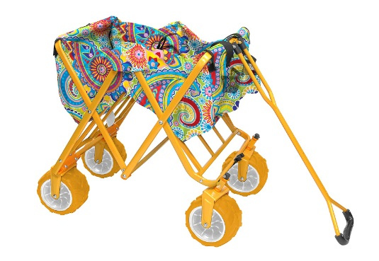Best-Yellow-Folding-Wagon-Without-Canopy