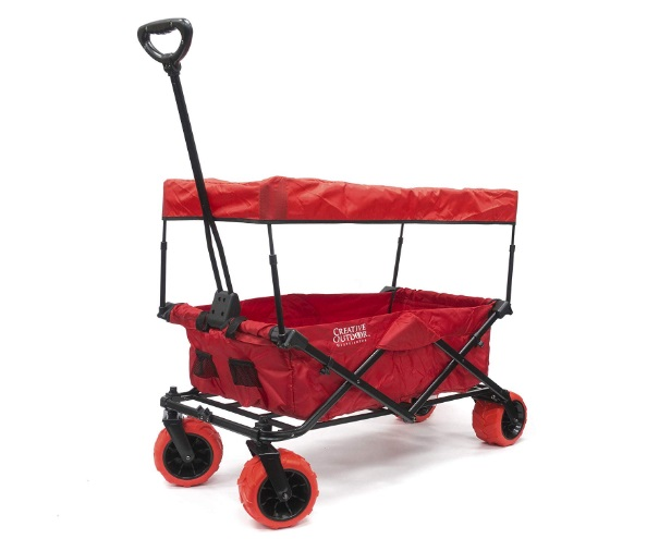 Creative-Outdoor-Folding-Wagon-with-Canopy