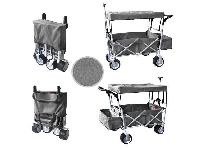 Push-Pull-Folding-Wagon-With-Canopy