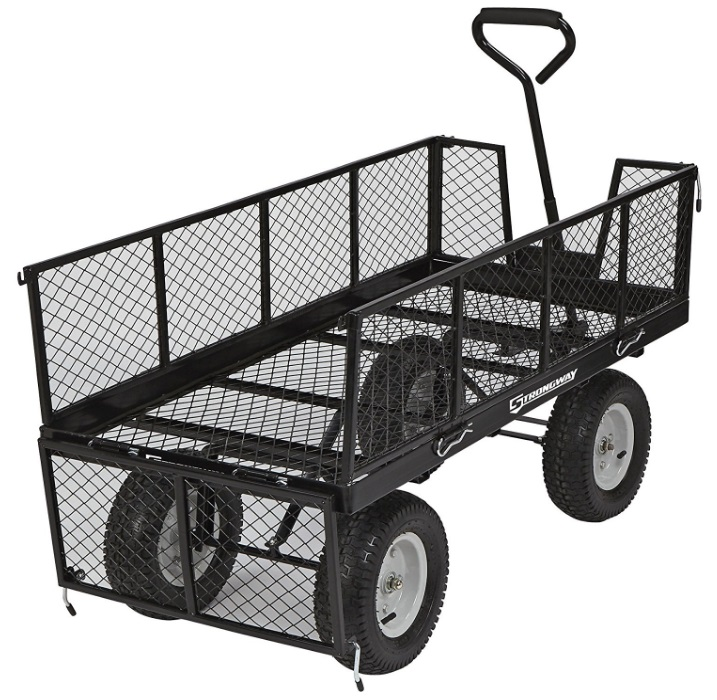 strongway-jumbo-wagon-review