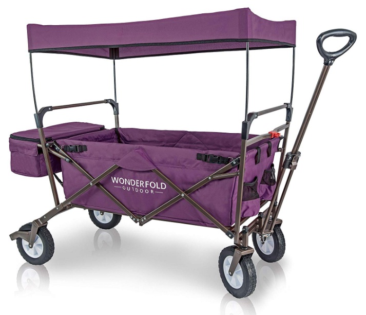 Foldable-Wagon-Utility-Cart-with-Cooler