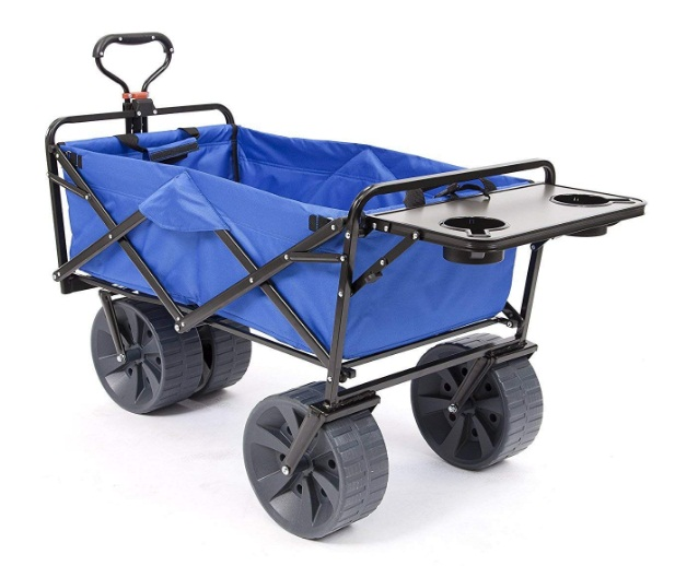 Mac-Sports-All-Terrain-Wagon-with-Folding-Table-in-Blue