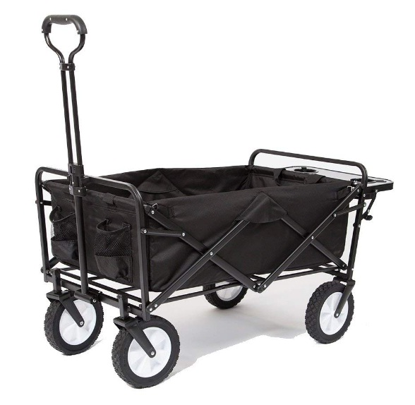 Mac-Sports-collapsible-folding-outdoor-utility-wagon-with-side-table
