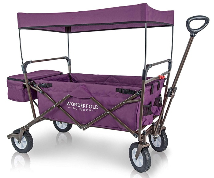 outdoor-multi-purpose-collapsible-folding-wagon-with-seatbelts